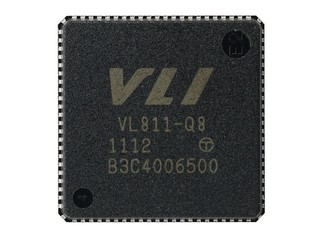 追加CDP提供3倍力充電 VIA VL811 USB 3.0 Hub控制器
