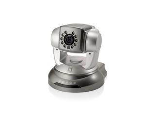 全天候日夜監控、1280x1024解像度 LevelOne FCS-6010 網絡攝影機