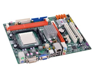 組裝入門級文書平台 ECS A780LM-M2主機板