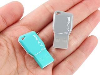 超輕、超薄、超短設計 PNY Key Attaché USB 隨身碟