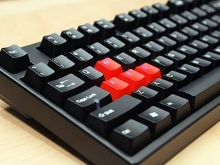 7個帶燈鍵帽 青軸機械式鍵盤 Ducky Channel 9008 G2 Pro