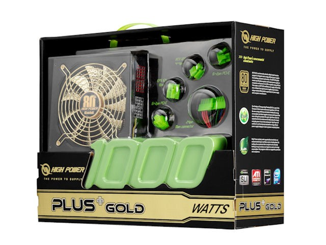 High Power Plus Gold 1000w