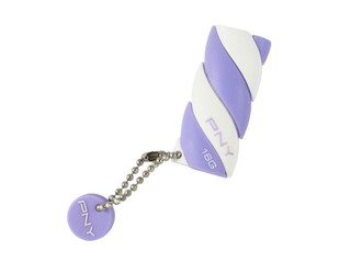 少女系扭紋棉花糖造型設計 PNY Candy Attache USB隨身碟