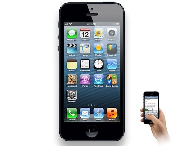 iPhone 5 front