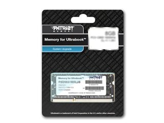專為Ultrabook升級而設  Patriot Memory for Ultrabook