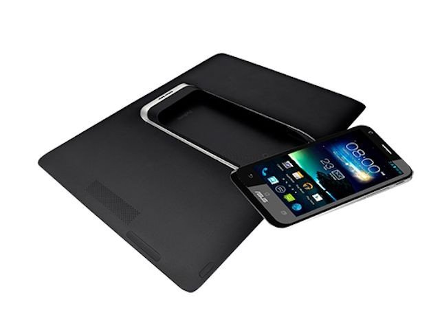 padfone 2 back with base