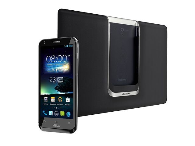padfone 2 Front with base
