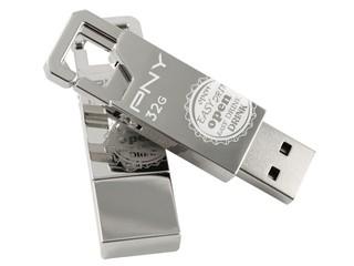 儲存檔案、開瓶器一物二用 PNY Opener Attaché隨身碟