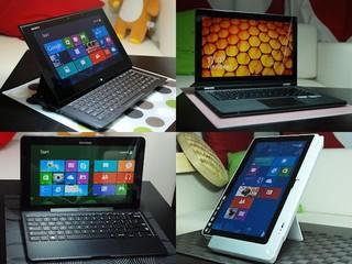 Windows 8 系統使用初探 輕觸式變形行動電腦4強實測