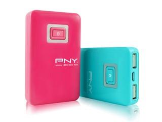 雙USB埠、5100mAh容量 PNY Power Bank Power-C51