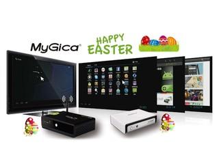 MyGica 復活節優惠再送禮品 購買「Enjoy TV V3000」、「X5」省更多