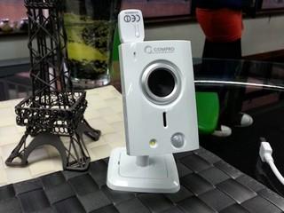 手機配合 QR Code 一對即用 Compro TN50W 網絡攝影機