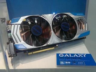 雙風扇設計提高散熱效能 Galaxy GeForce GTX 780 Twin Fan