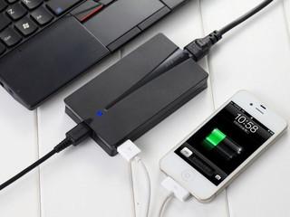 行動電腦、手持裝置同時充電 Huntkey NB-X-Man-90W充電器