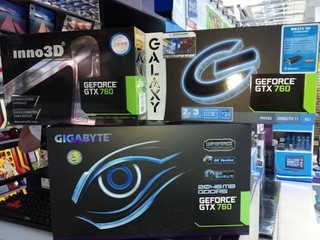 GeForce GTX 760大軍壓境 最低價格僅以港幣$1950起跳