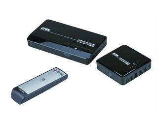 支援1080p輸出 兼容3D畫面 ATEN VE809 Wireless HDMI延長器