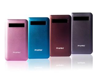纖薄高電量、金屬外殼四色選擇 全新ProMini6000流動電池