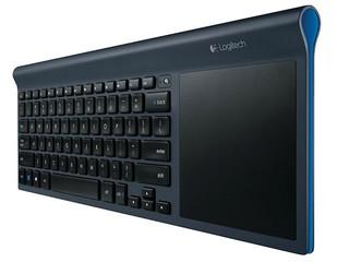 支援多點觸控面板操作 Logitech 多功能無線鍵盤TK820