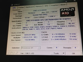 HKEPC採用AMD A10-6800K處理器 8.316GHz!!達成APU時脈世界紀錄