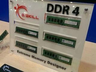 積極推動高效能記憶體發展 G.SKILL展出下代DDR4記憶體模組