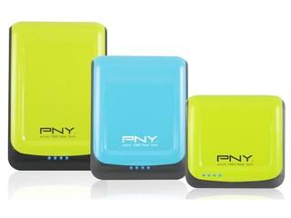 設藍綠雙色運動型設計 PNY Sharp 醒 S 系列行動電源