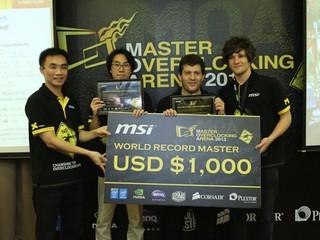 MOA 2013全球極限超頻圓滿結束 屢創佳績 打破多項世界紀錄