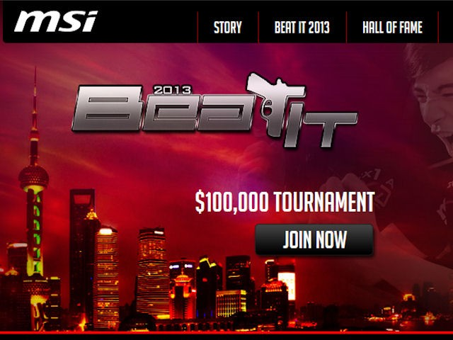 MSI Beat IT 2013