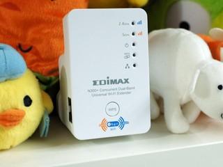 減少干擾 + 提高覆蓋範圍之選 Edimax EW-7238RPD 無線雙頻中繼器