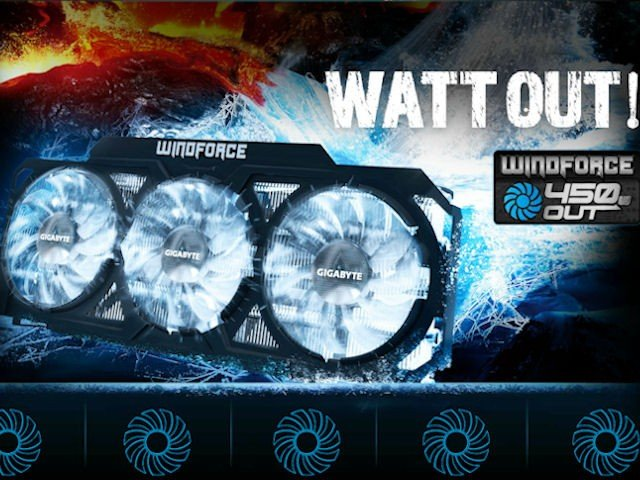 WINDFORCE 450 WATT OUT!