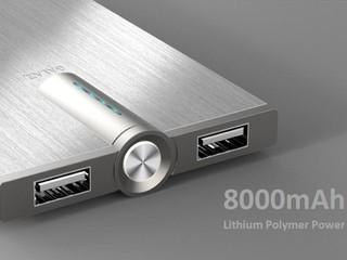 髮絲處理CNC鋁外殼、僅10mm厚度 GALAXY推出全新Power Bank系列