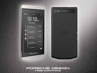 真皮機背、不銹鋼機身高級設計 1010 引入BlackBerry P9982手機