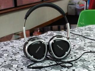 40mm生物纖維震膜單元 Creative Aurvana Live! 2 耳機