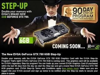 迎接6GB版本GeForce GTX780 EVGA歐美地區推出換購升級