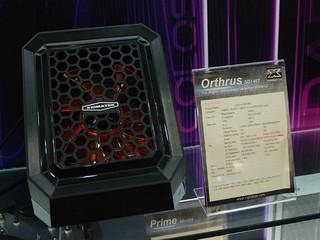 七銅導管、雙層雙鰭片組合 XIGMATEK Orthrus SD1467 散熱器