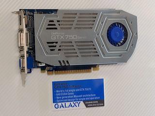全球首款單槽設計 GALAXY GeForce GTX 750Ti Razor