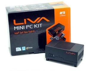 全球最細Mini PC ECS Liva Mini PC Kit詳細測試