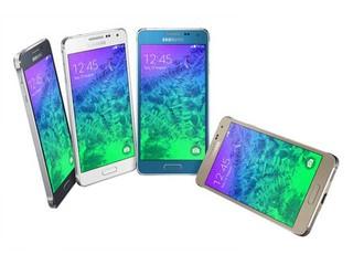 機身材質大躍進 邊框改以金屬材質  Samsung Galaxy Alpha智能手機