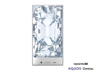 機面兩側及上方邊框極致幼薄 Sharp Aquos Crystal 智能手機