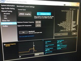 HKEPC採用Intel Core i7-5960X處理器 總成績「2950」打破Intel XTU世界紀錄