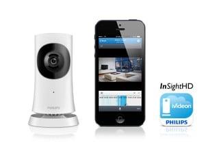 獨一無二加密金鑰 提高安全防護 Philips In.Sight 高清無線家居監護器