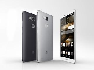 全方位指紋辨識、雙四核及4G LTE HUAWEI Ascend Mate7 智能手機