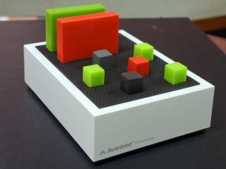 收納線材、保持整潔統一 Avantree PowerHouse USB Desk