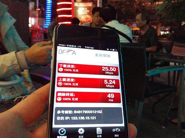 China OFCA SpeedTest