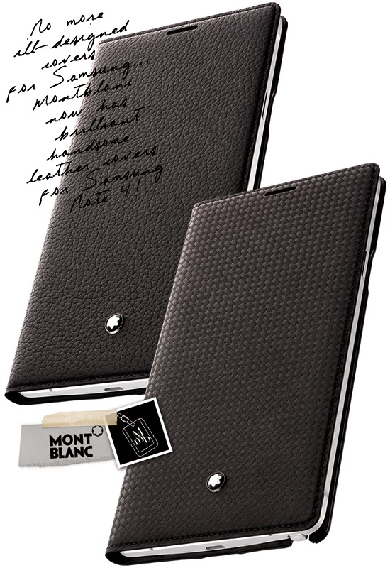 GALAXY Note 4 Montblanc Accessor