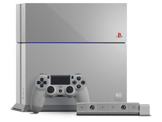 PlayStation遊戲機誕生20週年 SONY PS20紀念版主機限量發售