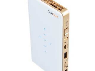 Q6 流動投影機 便攜且靈活性高 Everbest 正式成為 CooLux 港澳總代理