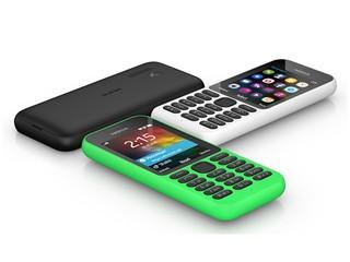 定價 US29、目標為十億人提供選擇  Microsoft Nokia 215 功能智能手機