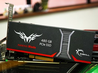 PCI-E 介面、近 2,000MB/s 讀取效能 G.SKILL PHOENIX Blade 480GB SSD