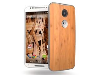 FSC認證的木材機背 高階效能再提升 Motorola 第二代Moto X 智能手機