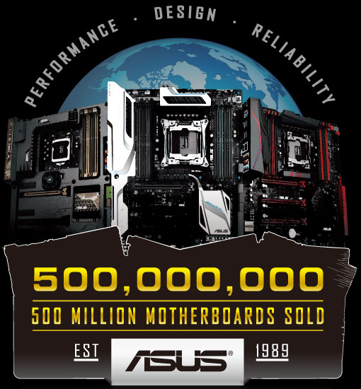 ASUS 500 million motherboard